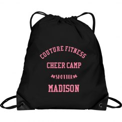 Cheer Drawstring Customized Spotter Backpack
