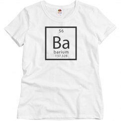 Basic Barium Group Costume