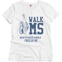 MS Charity Walk Design