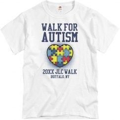 Walk for Autism Shirt
