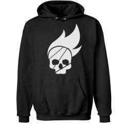 Burning Skull Hoodie