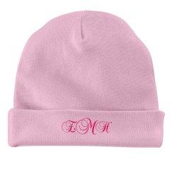 Monogrammed Baby Hat
