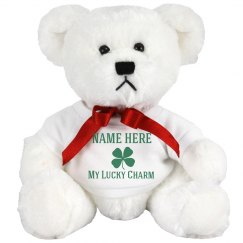 Custom St Patricks Day Bear