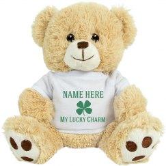 Custom St Patricks Day Bear