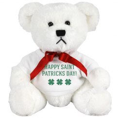 St Patricks Day Bear
