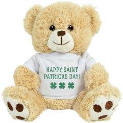 St Patricks Day Bear