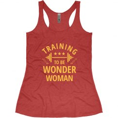 Training to be Wonder Woman