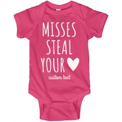Misses Steal Your Heart Cutest Valentine's Baby