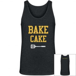 Bake Cake Dark Heather Grey