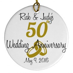 Golden Anniversary Ordainment