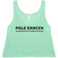 Pole Dancer Challenging The Fitness Status Quo