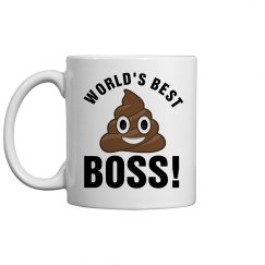 World's Best Boss Poop