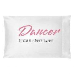 Sweet Dreams Dancer Pillow Case
