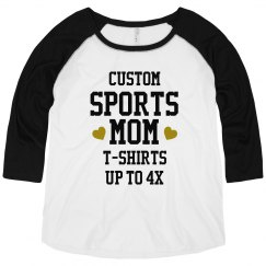 Custom Bling Sport Mom