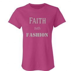 Faith over Fashion