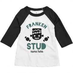 Franken Stud Toddler Halloween