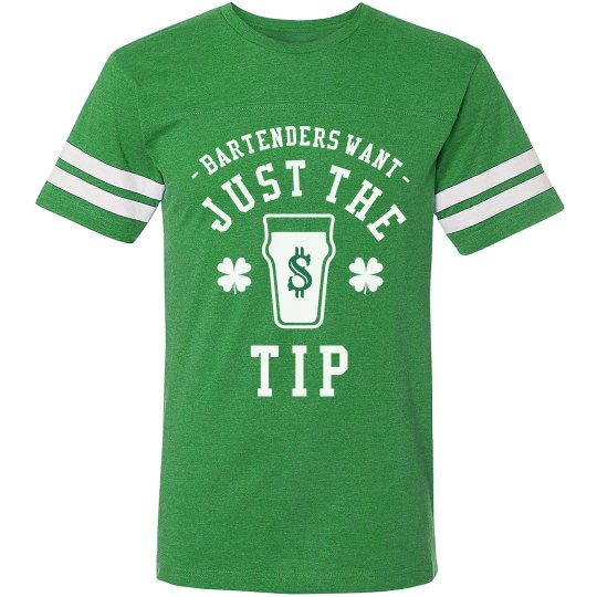 1f5b778b2 Funny Irish Just The Tip Unisex Vintage Sports T-Shirt