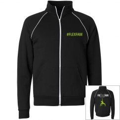 ADULT Pose Style Zip Up Fleece Jacket