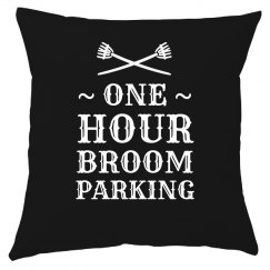 Custom Halloween Broom Parking