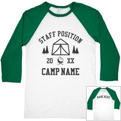 Summer Camp Custom Staff Apparel