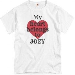 Heart belongs to Joey