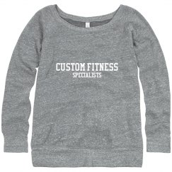 CFS Ladies Wideneck Sweatshirt