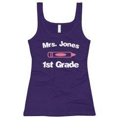 1st Grade Teacher Tank