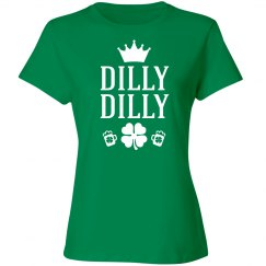 Dilly Dilly Crown Shamrocks