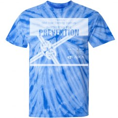 17th Annual Mid-Year Men's T-Shirt- Tie Dye-Royal