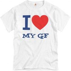 I love my girlfriend