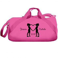 Cheer Best Friends Names Cheer Bag