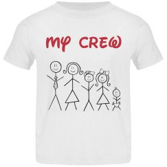My crew shirt for toddlers