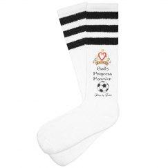 Soccer Princess Socks