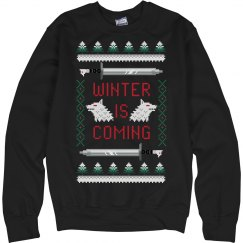 Winter Is Coming Ugly Sweater