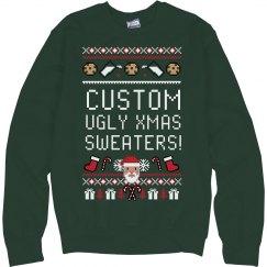 Xmas Custom Ugly Sweater