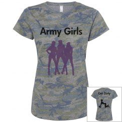 Army Girls Get Dirty