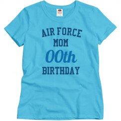 Customize air force mom bday