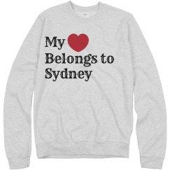Heart belongs to Sydney