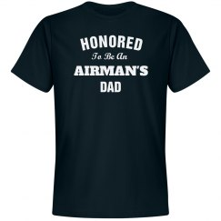 Honored to be airman's dad