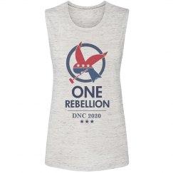 Bernie's One Rebellion vs the DNC