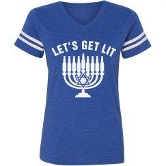 Getting Lit On Hanukkah