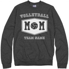 Custom Team Volleyball Mom