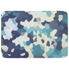 Jewell Print Trendy Bath Mat