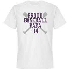Proud baseball Papa