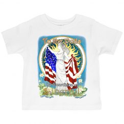 MOUSIE Liberty Toddler Ruffle Tee