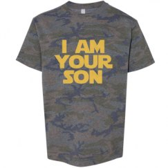 Youth Vintage Camo Fine Jersey Tee