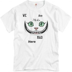 We are all mad here - Alice top