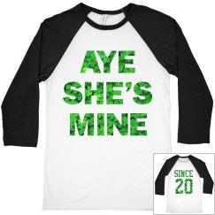 Aye Mine Irish Couple Guy
