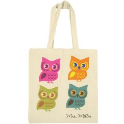 Cutey Owl Tote Bag