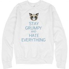 Stay Calm Yet Grumpy
